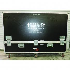 """Roadcase for 80"""" Sharp Aquos LCD TV"""