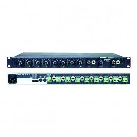 Shure SCM-800 8channel Audio Mixer