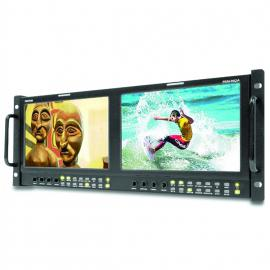 "TV Logic Dual 9"" LCD 800x480 Multi-Form Monitors (PRM-902A)"