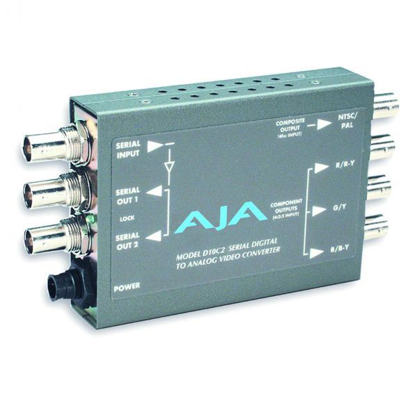AJA D10C2 Serial Digital to Analog Component/Compo