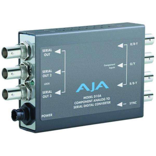 AJA D10A Component Analog to Serial Digital Converter